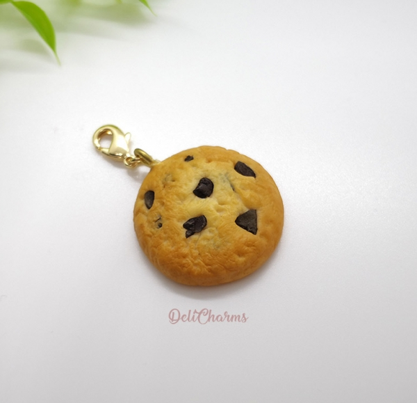 cookie charm miniature cookie jewelry