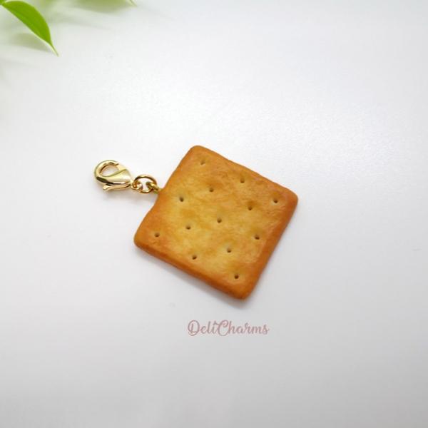 cream cracker bag charm delicharms