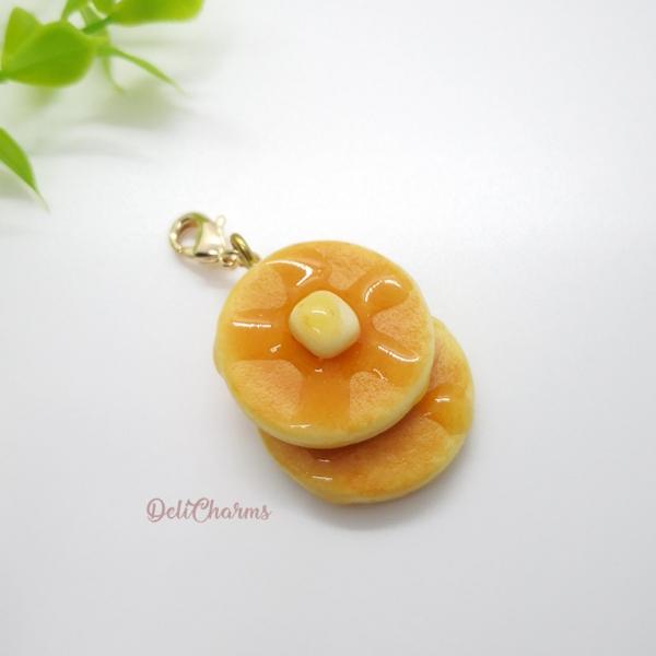 pancake butter charm customise bag charm