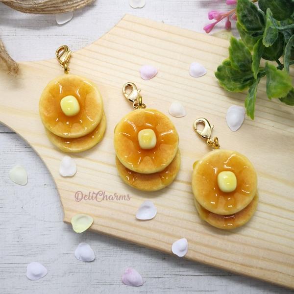 pancake charm miniature pancake jewelry