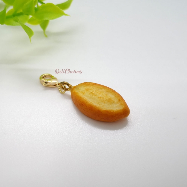 Batard miniature bread bag charm