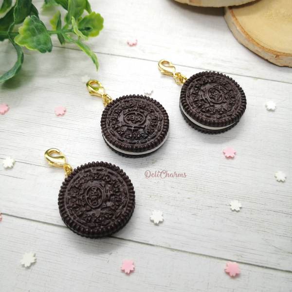 oreo cookie jewelry wearable food