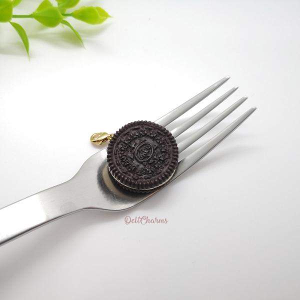 oreo cookie charm handmade miniature food charms handmade charms