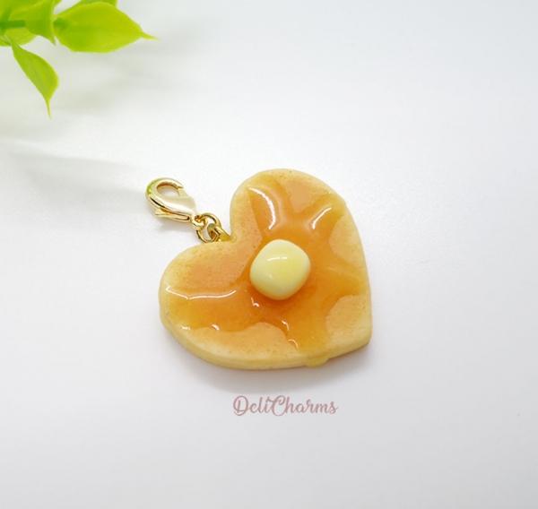 heart pancake miniature charm cat collar dog collar
