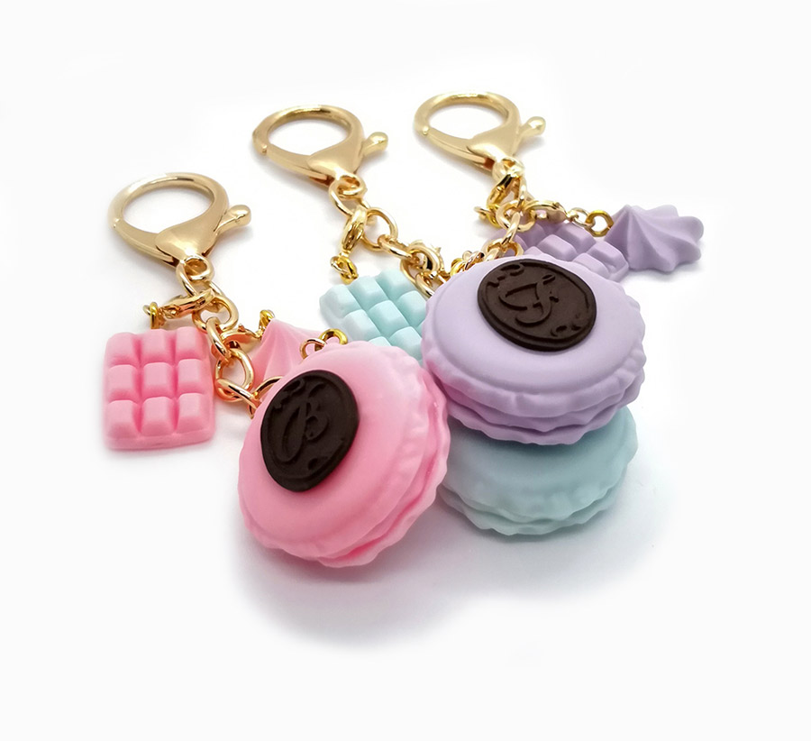 personalized macaron charms delicharms