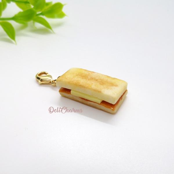 kaya butter toast charm handmade charms