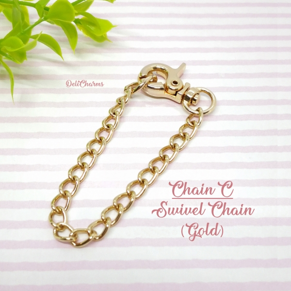 Bag chain for bag charm custom chains cute clay charms delicharms