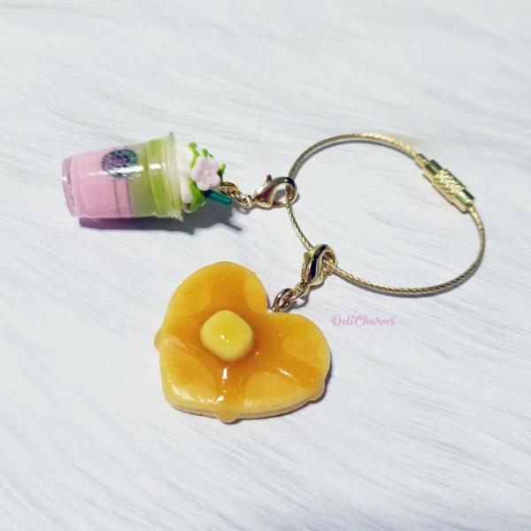 bah charms handmade keychain custom christmas gift for girlfriend handmade charms