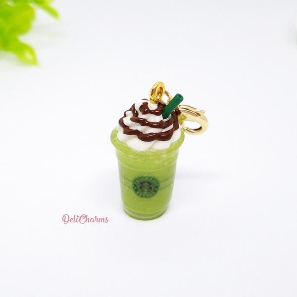 green tea frappuccino starbucks charm sratbucks gift card delicharms