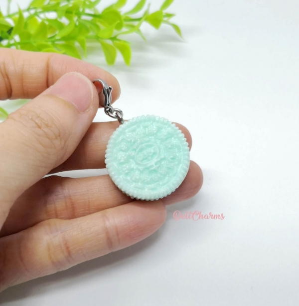 Oreo charm mini oreo earrings handmade charm