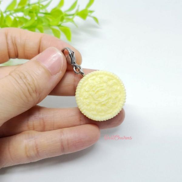 Oreo charms miniature oreo earrings mini oreo charm