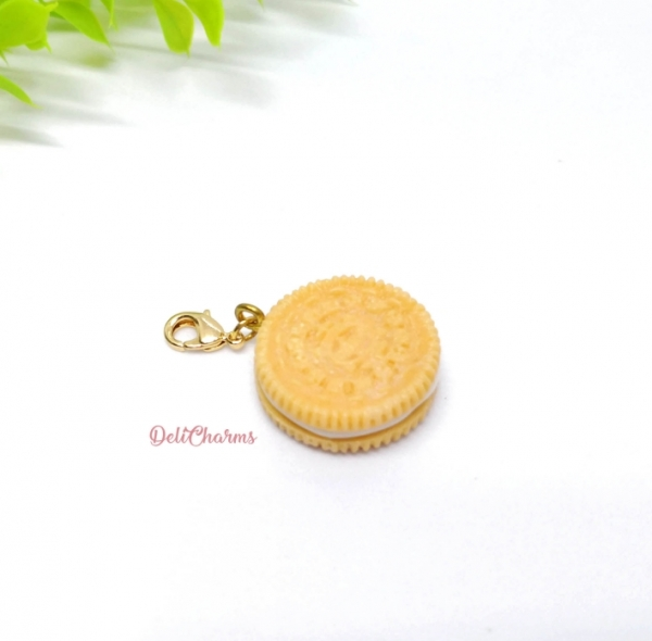 Oreo cookie charm delicharms miniature food accessory