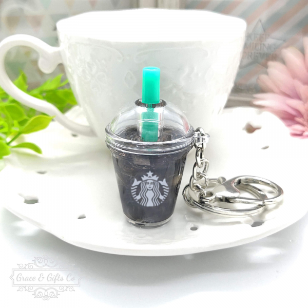 Starbucks keychain Iced Americano gift for coffee lover