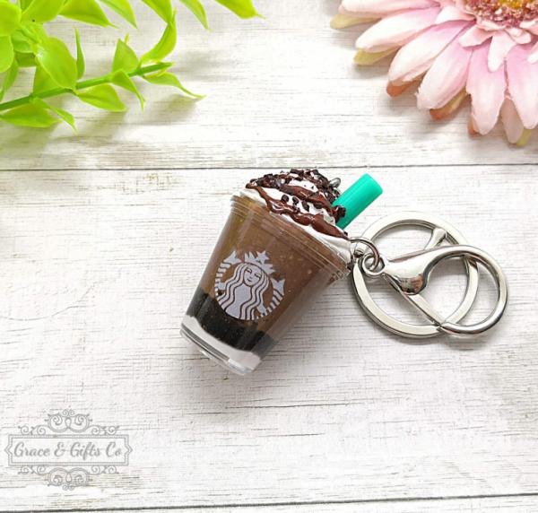 Starbucks keychain Mocha Cookie Crumble 1