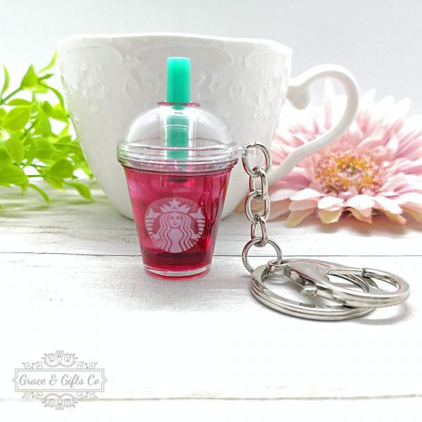 Starbucks keychain Passion iced tea 1