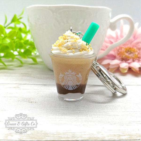 Starbucks keychain Smore Frappuccino 3