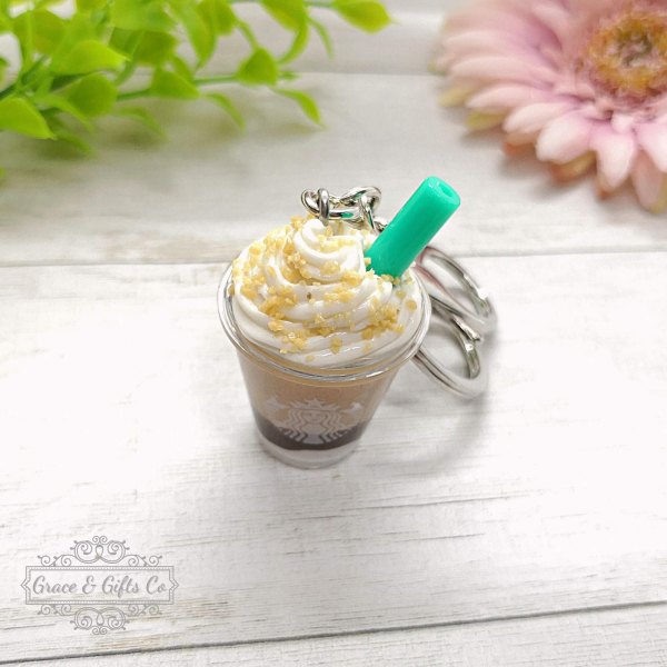 Starbucks cup keychain Smore Frappuccino 4