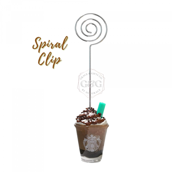 mini starbucks cup Keychain mocha frappe handmade gift for colleague mentor coworker