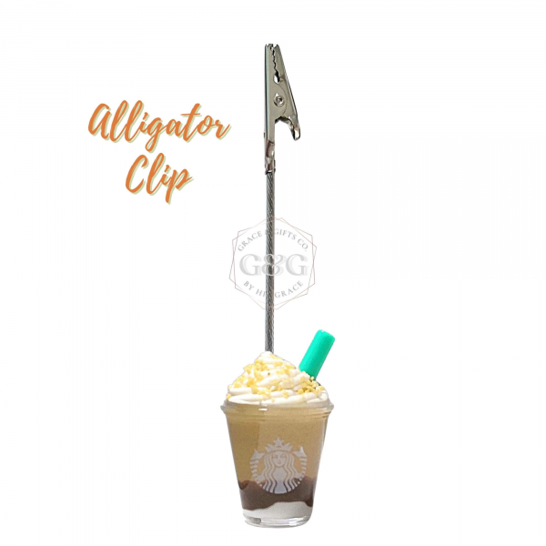 mini starbucks Cup Smore Frappuccino photo frame gift for girlfriend