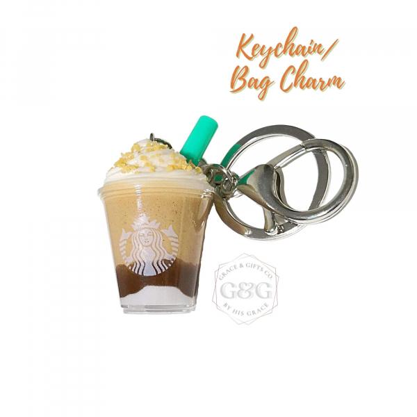 miniature starbucks keychain Smore frappuccino christmas gift ideas 2021 2022