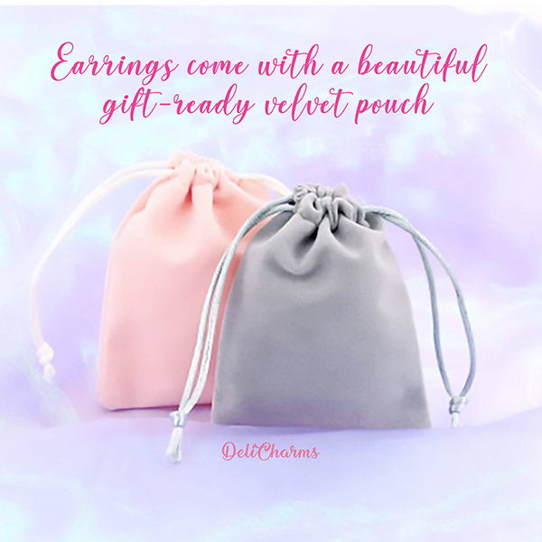 velvet pouch deli charms delicharms free gift